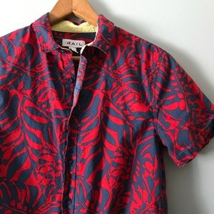 The Rail Botanical Short Sleeve Collared Shirt